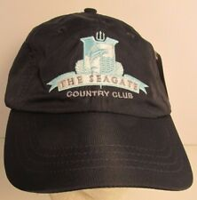 The Seagate Country Club Hat Cap Golf Delray Beach Florida Usa Embroidery #bk