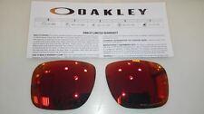 Lentes Oakley Holbrook 9102 51 Ruby Iridium Polarized Replacement lenses Lens