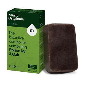 Marie Originals Poison Ivy/Oak Soap Bar – 100% All Natural Triple Acting Formula