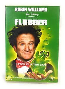 Flubber (DVD, 1997) Walt Disney Robin Williams Region 4 Free Postage