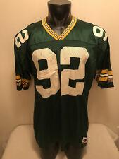 Vtg Reggie White #92 Green Bay Packers Champion Jersey Mens size 52