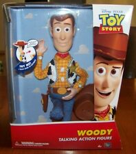 Disney Pixar Toy Story Woody Pull String Talking Sheriff Cowboy Action Figure