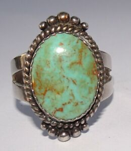 Carolyn Pollack Southwestern Style Sterling Silver Turquoise Ring