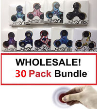 Wholesale Lot 30 x Fidget Hand Tri Spinner Finger Toy Kids Camouflage Camo Color