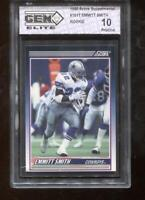 Emmitt Smith RC 1990 Score Supplemental #101T HOF Rookie GEM Elite 10 Pristine