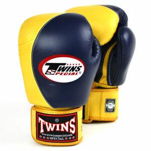 Twins BGVL8 Navy-Gold 2-Tone Boxing Gloves