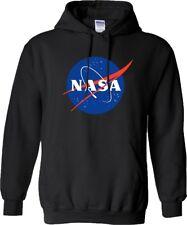 NASA Hoodie Space Astronaut Geek Nerd Star Big Bang Theory Mens Hood Top Gift