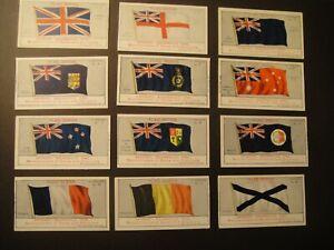 CADBURY FLAG SERIES OF 12 ISSUED 1912
