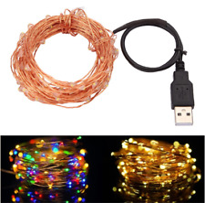 Copper Wire LED String Fairy Lights Outdoor Christmas Wedding Garland Decoration