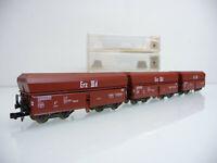 Fleischmann N 1:160 8520 3-teiliger Selbstentladewagen Zug ERZ IIId mit OVP