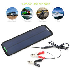 18V 12V 7.5W Portable Solar Panel Power Battery Charger Pack for Auto Car Motor