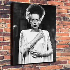 "Classic Horror Bride Of Frankenstein Box Canvas A1.30""x20""~Deep 30mm Frame"