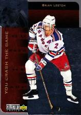 1996-97 Collectors Choice Crash the Game Gold Exchange #27 Brian Leetch
