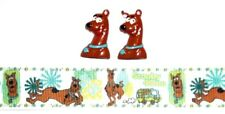 SCOOBY DOO Dog Hair Bow Supplies Kit - 2 yd Ribbon and 2 Flatback Resins