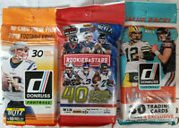 2017 and 2018 NFL 3 Fat Pack special - Factory Sealed - detail inside.