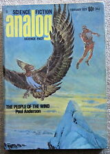 ANALOG Febuary March April 1973 The People of the Wind by Poul Anderson (serial)