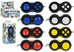 1 x  Buttons Finger Fidget Gaming Gadget Controller Pad Stress Reduce Keyring