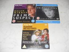 PRIME SUSPECT, ROSEMARY & THYME - 3 x PROMO DETECTIVE DVD's..HELEN MIRREN.