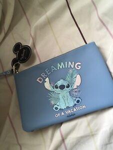 Disney Stitch Make Up Travel Bag New