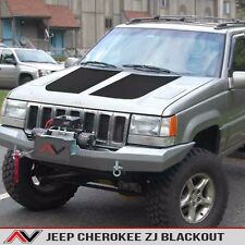 Jeep Grand Cherokee ZJ hood blackout Matte Black Free Shipping Fits: 1993-1998