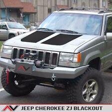 Jeep Grand Cherokee ZJ hood blackout Matte Black Free Shipping Fits: 1993-1998