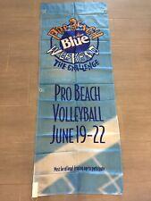 "Vintage Labatt Blue Pro Beach Volleyball Large Banner Flag 72"" x 27"""