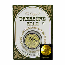 Original Treasure Metallic Gilding Wax for frames furniture 25g FLORENTINE GOLD.