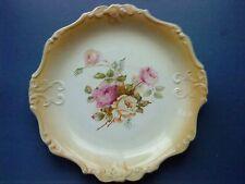 Vintage James Kent Fenton Bread / Cake Plate Pink & white Roses
