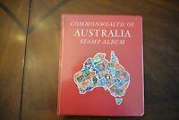 CatalinaStamps: Australia Stamp Album, Gibbons 1969, 235 Stamps, Lot D113