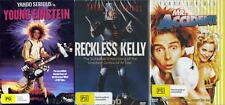 RECKLESS KELLY + YOUNG EINSTEIN + MR. ACCIDENT - YAHOO SERIOUS 3 DVDS -