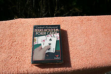 TEXAS HOLD 'EM POKER CARDS sealed BY CARDINAL