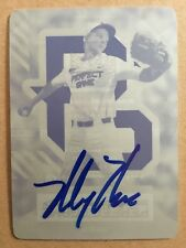 MICKEY MONIAK SIGNED AUTO AUTOGRAPHED PERFECT GAME PRINTING PLATE PHI PHILLIES
