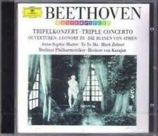 Yo Yo Ma : Beethoven: Triple Concerto, Overtures CD Expertly Refurbished Product