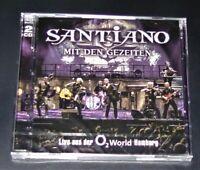 SANTIANO MIT DEN GEZEITEN LIVE AUS DER O2 WORLD HAMBURG DOPPEL CD NEU & OVP