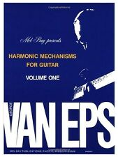 George Van Eps armónico mecanismos Guitarra, volumen 1 libro aprende a tocar música