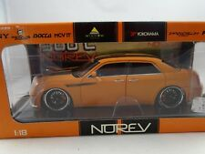 1 18 NOREV #189400 Chrysler 300c Tuning Orange/noir - Rare §