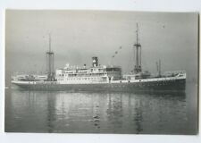 MS Van Heutsz Photo Postcard - KJCPL Royal Interocean Lines 1886