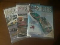 Vintage Camper Trailers Lot Of 3 Magazines New In Wrapper