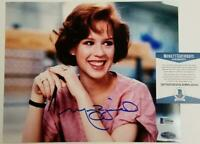 Molly Ringwald signed 8x10 Photo #1 Breakfast Club Autograph ~ Beckett BAS COA