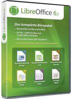 LibreOffice 6.2 Tabellenkalkulation -Textverarbeitung -Officepaket - Download