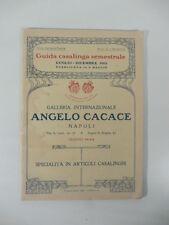 Angelo Cacace. Napoli. Specialita' in articoli casalinghi, 1913, cucine, padelle
