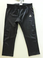 Adidas Sz M - Climalite cropped pant tight- Charcoal