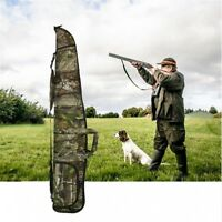 "52"" Tactical Camouflage Shotgun Rifle Soft Padded Case Fishing Bag Gun Storage"