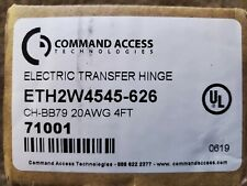 Command Access Electrified 2 wire electric transfer Hinge, 71001, Eth2W4545