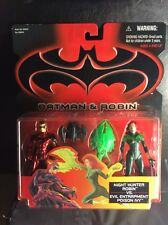 BATMAN & ROBIN 1997 ROBIN Vs POISON IVY ACTION FIGURE TWIN PACK KENNER MOC