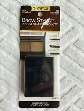 Loreal L'Oreal Brow Stylist Prep & Shape Pro Kit in 386 LIGHT TO MEDIUM