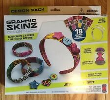 Graphic SKINZ design Studio Jewelry Set.. FREE SHIPPING