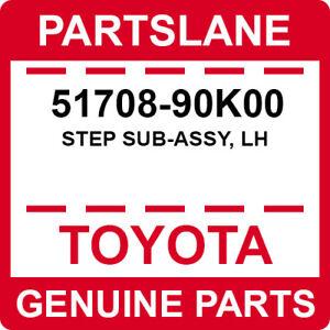 51708-90K00 Toyota OEM Genuine STEP SUB-ASSY, LH