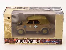 """CARARAMA / HONGWELL - Volkswagen Kübelwagen WWII """"Afrika Korps"""" - 1/43"""