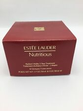 *NEW*  ESTEE LAUDER NUTRITIOUS Radiant Vitality 2 Step Treatment 50ml & 30ml